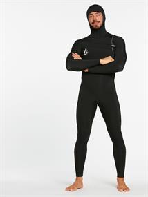 Volcom 5/4/3 MM Hooded Chestzip fullsuit wetsuit