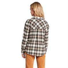 Volcom PLAID TO MEET U LS-Dames Shirt