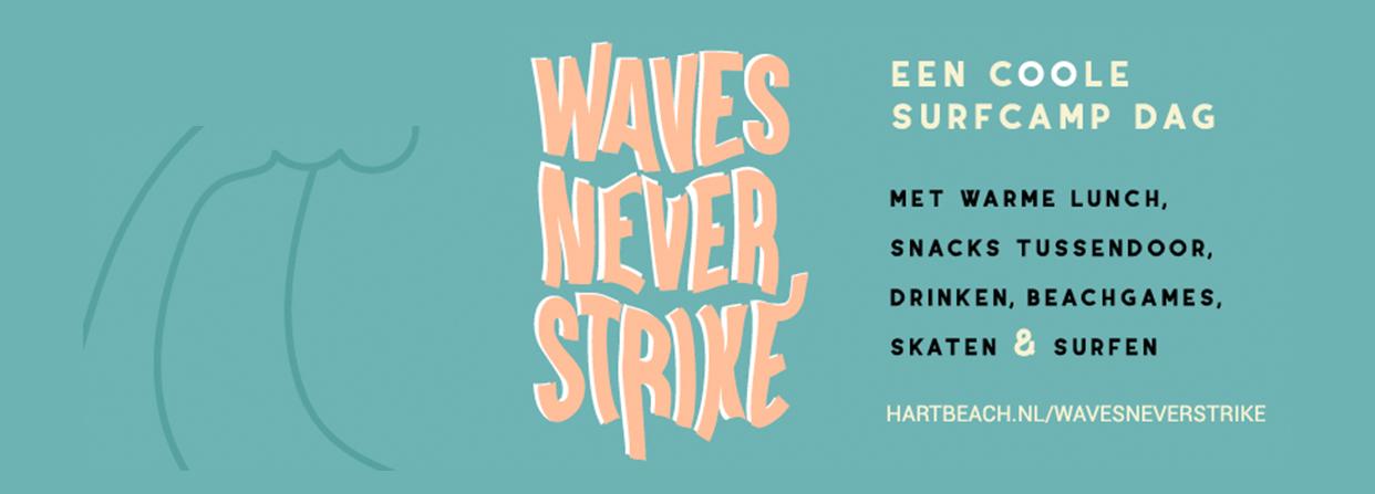 Waves never strike main banner desktop