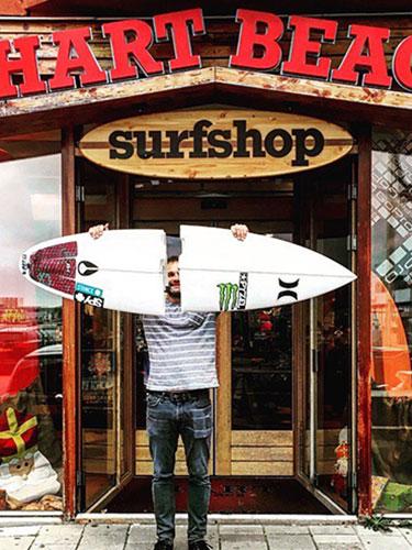 webcam surfshop