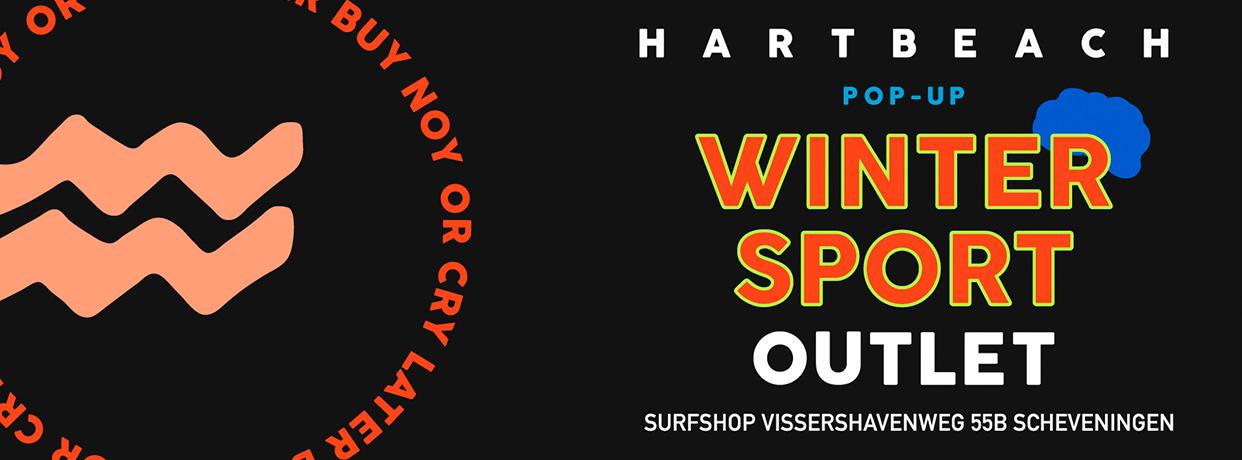 Wintersport sale outlet banner