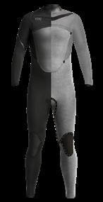 Xcel 5/4mm Axis X X2 Hooded - Wetsuit Heren